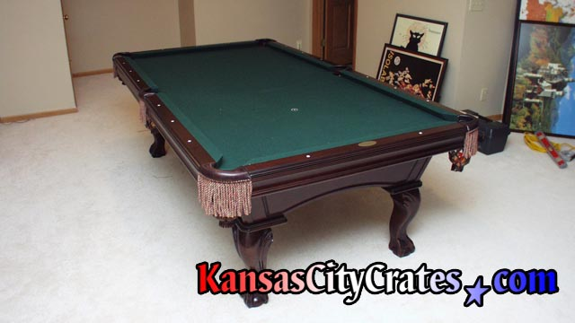 Kansas City Crates Crates For Billiard Table Slate - Connelly pool table disassembly