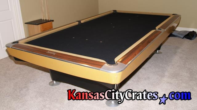 Kansas City Crates Crates For Billiard Table Slate - Brunswick pool table disassembly